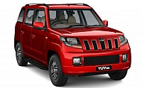 Mahindra TUV 300 T10 AMT Dynamo Red pictures