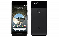 Google Pixel 2 Just Black Front And Back pictures