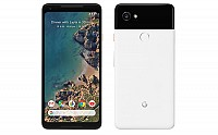 Google Pixel 2 XL Black with White Front And Back pictures