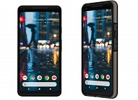 Google Pixel 2 XL Just Black Front And Back pictures