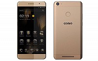 Comio P1 Sunrise Gold Front And Back pictures
