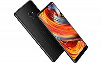 Xiaomi Mi Mix 2 Black Front,Back And Side pictures