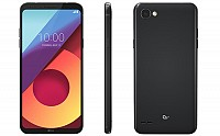 LG Q6 Plus Astro Black Front,Back And Side pictures