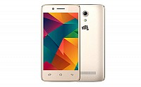 Micromax Bharat 2 Ultra Gold Front And Back pictures