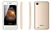 Celkon Smart 4G Gold Front,Back And Side pictures