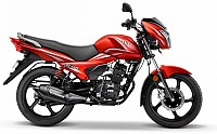 TVS Victor Restful Red pictures