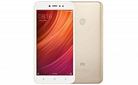 Xiaomi Redmi Y1 Gold Front And Back pictures