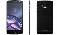 Motorola Moto Z Black Front,Back And Side pictures