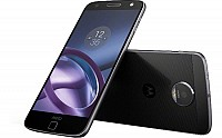 Motorola Moto Z Black Front, Back And Side pictures