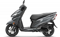 Honda Grazia Matte Axis Grey Metallic pictures