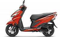 Honda Grazia Neo Orange Metallic pictures