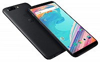 OnePlus 5T Midnight Black Front,Back And Side pictures