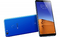 Vivo V7 Plus Energetic Blue Front, Back And Side pictures