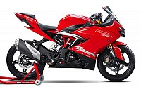 TVS Apache RR 310 Red pictures