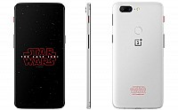 OnePlus 5t Star Wars Limited Edition Front, Back and Side pictures