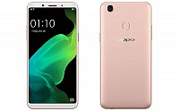 Oppo F5 Youth Gold Front And Back pictures
