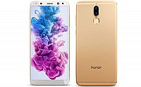 Huawei Honor 9i Prestige Gold Front And Back pictures