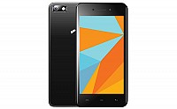 Micromax Bharat 5 Black Front,Back And Side pictures