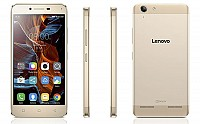 Lenovo Vibe K5 Champagne Gold Front,Back And Side pictures