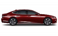 Lexus LS 500h Distinct Matador Red Mica pictures