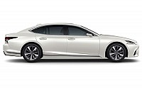Lexus LS 500h Luxury Eminent White Pearl pictures