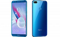 Huawei Honor 9 Lite Sapphire Blue Front,Back And Side pictures