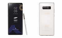 Samsung Galaxy Note 8 PyeongChang 2018 Olympic Games Limited Edition pictures