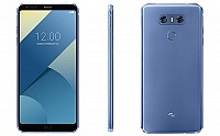 LG G6 Blue Front, Back And Side pictures