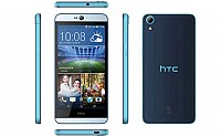 HTC Desire 826 Blue Lagoon Front,Back And Side pictures