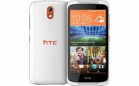 HTC Desire 526G Plus Fervor Red Front And Back pictures