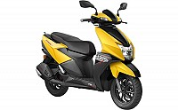 TVS NTorq 125 Matte Yellow pictures