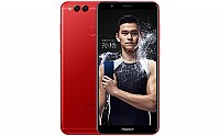 Huawei Honor 7X Red Limited Edition Front And Back pictures
