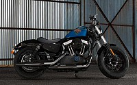 Harley Davidson Forty Eight Legend Blue Denim pictures