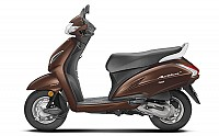Honda Activa 5G DLX Majestic Brown Metallic pictures