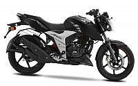 TVS Apache RTR 160 4V Black pictures