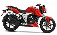 TVS Apache RTR 160 4V Red pictures