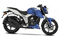 TVS Apache RTR 160 4V Blue pictures