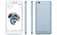 Xiaomi Redmi 5A Lake Blue Front,Back And Side pictures