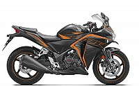 Honda CBR 250R ABS Matte Axis Gray Metallic with Mars Orange pictures