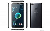 HTC Desire 12 Plus Black Front,Back And Side pictures