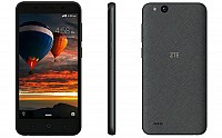 ZTE Tempo Go Grey Front,Back And Side pictures