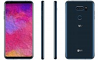 LG V30 Plus Moroccan Blue Front,Back And Side pictures