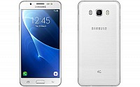 Samsung Galaxy J5 (2016) White Front And Back pictures