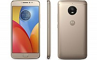 Motorola Moto E4 Plus Fine Gold Front,Back And Side pictures