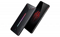 ZTE Nubia Red Magic Black Front, Back And Side pictures