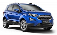 Ford Ecosport Lightning Blue pictures