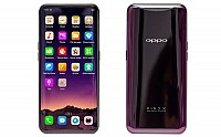 Oppo Find X Front and Back pictures