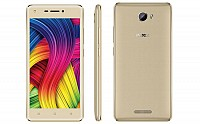 Intex Indie 5 Front, Side and Back pictures
