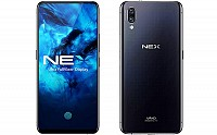 Vivo Nex Front and Back pictures