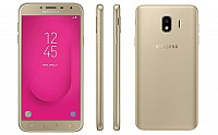 Samsung Galaxy J4 Front, Side and Back pictures